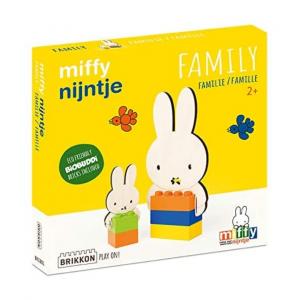 Familia Miffy - Brikkon BioBuddi BIG Bricks
