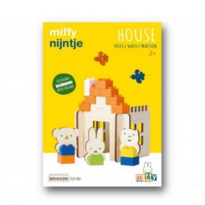 Casa y amigos Miffy - Brikkon BioBuddi BIG Bricks