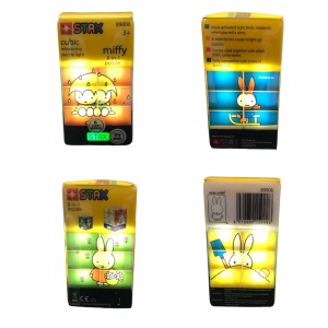 Puzzle Miffy con LUZ LED 4 en 1 Stax Junior