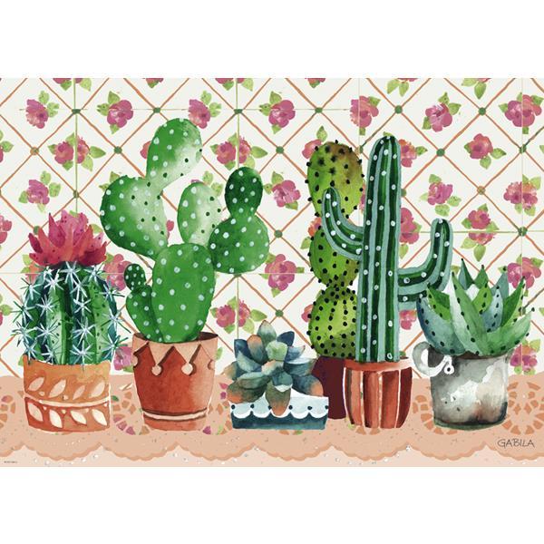 Puzzle Familia de Cactus