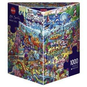Puzzle Magic Sea - Océano de Rita Berman de Heye 1000 piezas
