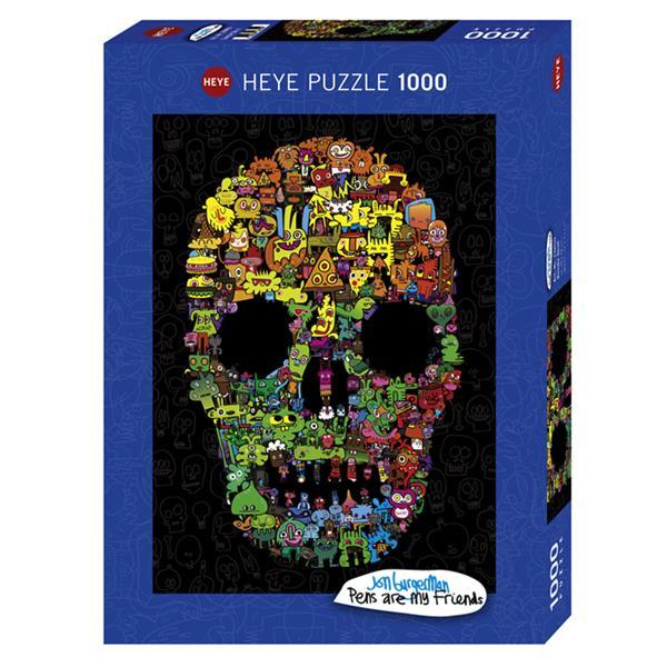 Puzzle Calavera