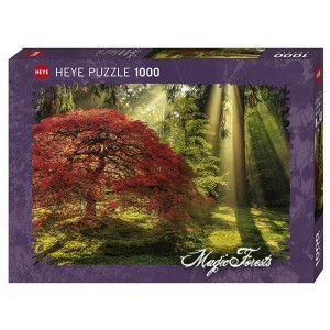 Puzzle Guía de Luz - Bosque Magico