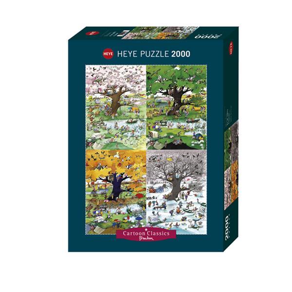 Puzzle Las Cuatro Estaciones del año - 2000 piezas