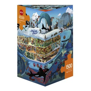 Puzzle Submarino divertido - 1500 piezas