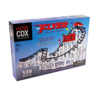 Juguete Montaña Rusa - Flyer de CDX Blocks - Kit construcción