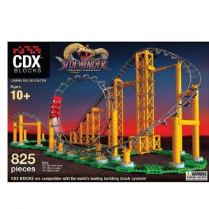 Juguete Montaña Rusa - Sidewinder de CDX Blocks - Kit construcción