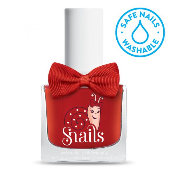 Esmalte de uñas rojo Amor de SNAILS
