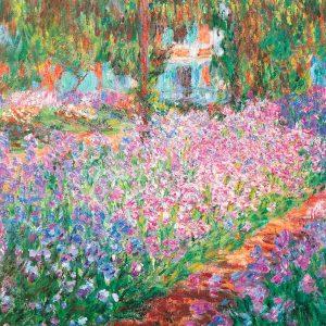 Puzzle El Jardín de Iris de Monet
