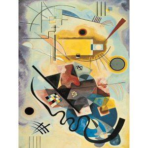 Puzzle Amarillo rojo azul de Kandinsky