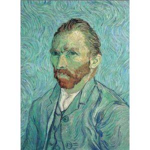 Puzzle Ricordi Autorretrato de Van Gogh 1000 piezas