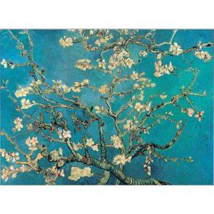 Puzzle Ricordi Almendro en flor de van Gogh 1000 piezas