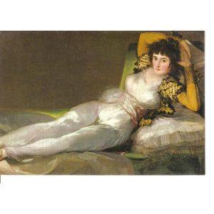Puzzle La Maja vestida de Francisco de Goya Panorámico