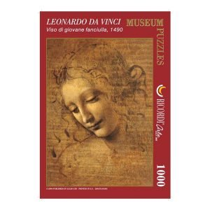 Puzzle El Rostro de Leonardo Da Vinci
