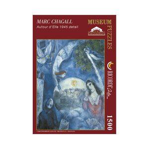 Puzzle Autour deèlle 1945 detail de Chagall