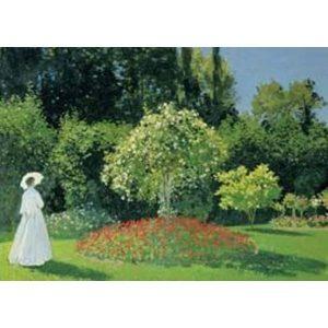 Puzzle La Mujer en el Jardín de Monet