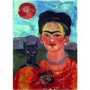 Puzzle Autoretrato de Frida Kahlo