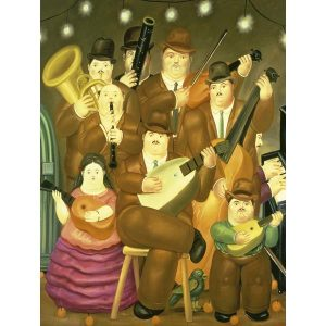 Puzzle Los Musicos de Fernando Botero