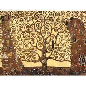 Puzzle El arbol de la vida de Gustav Klimt