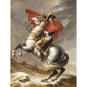 Puzzle Napoleón cruzando los Alpes de Jacques-Louis David
