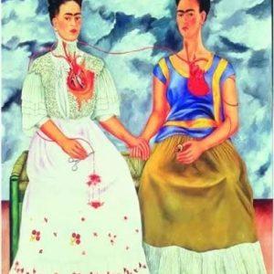 Puzzle las dos Fridas de Frida Kahlo