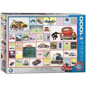 Puzzle Eurographics Volkswagen Beetle 1000 piezas