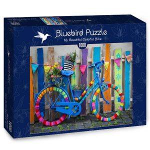 Puzzle Bluebird - Mi coloridos de la bici Hermosa - 1000 piezas