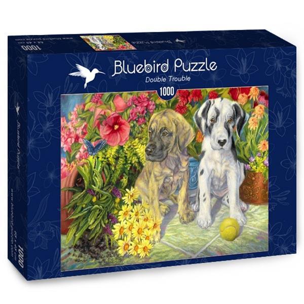 Puzzle Bluebird - Doble problema - 1000 piezas