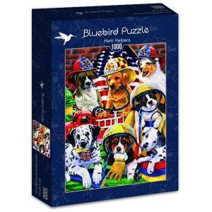 Puzzle Bluebird - héroe Ayudantes - 1000 piezas