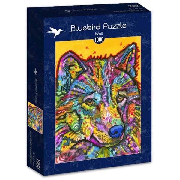Puzzle Bluebird - Lobo - 1000 piezas