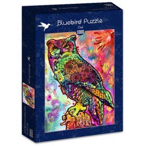 Puzzle Bluebird - Búho - 1000 piezas
