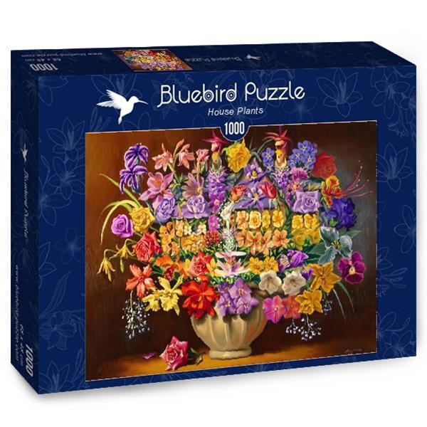 Puzzle Bluebird - Plantas de interior - 1000 piezas