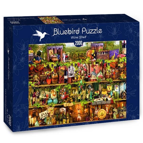 Puzzle Bluebird - Estante de vino - 2000 piezas