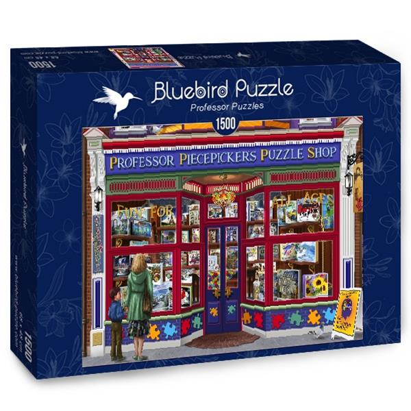 Puzzle Bluebird - Puzzles Professor - 1500 piezas