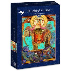 Puzzle Bluebird - La procesión - 2000 piezas