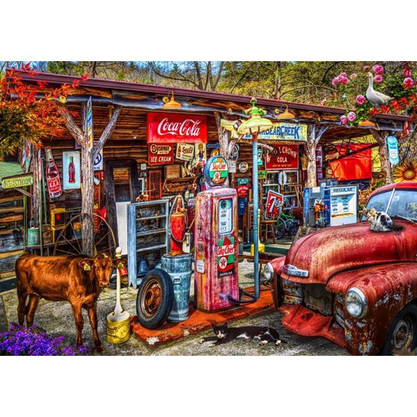 Puzzle Bluebird - En la parte posterior carreteras en el país - 1000 piezas