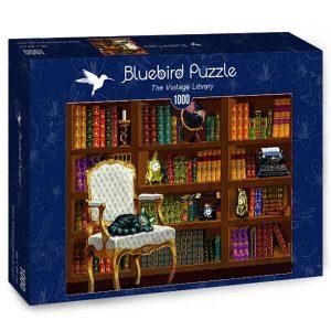 Puzzle Bluebird - La Biblioteca vintage - 1000 piezas