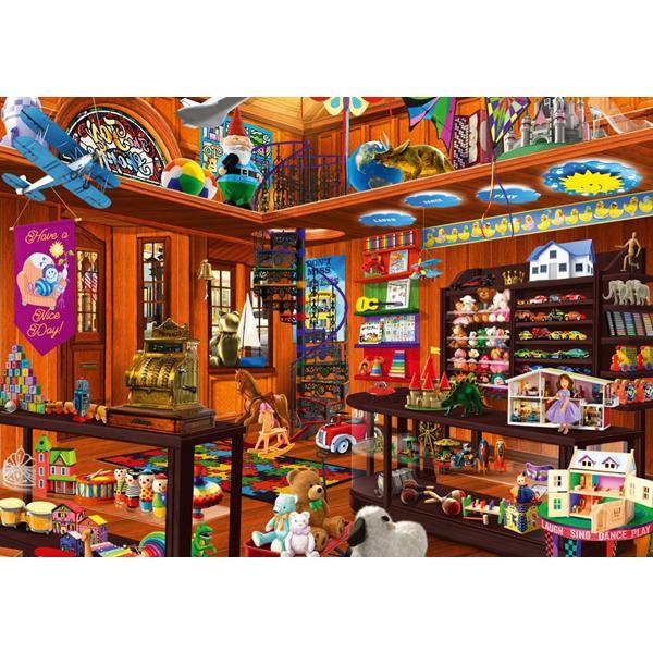 Puzzle Bluebird - Juguetería oculta - 1000 piezas