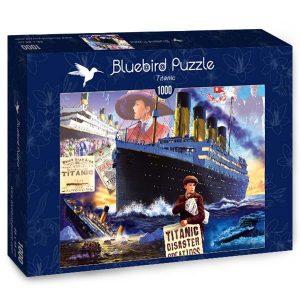 Puzzle Bluebird - Titanic - 1000 piezas