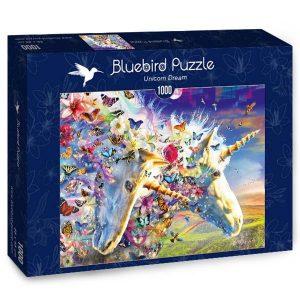 Puzzle Bluebird - Sueño del unicornio - 1000 piezas