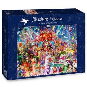 Puzzle Bluebird - Una noche en el circo - 1000 piezas