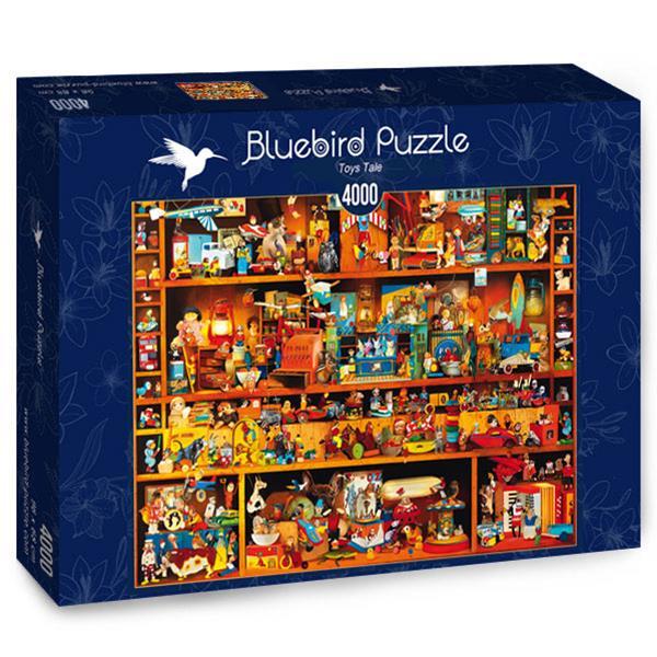 Puzzle Bluebird - juguetes Tale - 4000 piezas