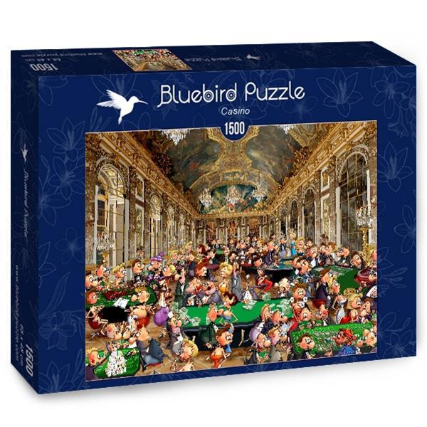Puzzle Bluebird - Casino - 1500 piezas