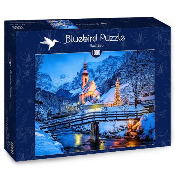 Puzzle Bluebird - Ramsau - 1000 piezas