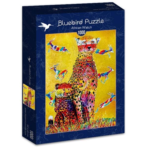 Puzzle Bluebird - Reloj de África - 1000 piezas