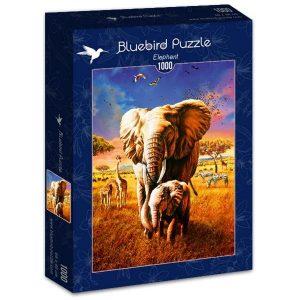 Puzzle Bluebird - Elefante - 1000 piezas