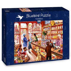 Puzzle Bluebird - Tienda de dulces - 1000 piezas