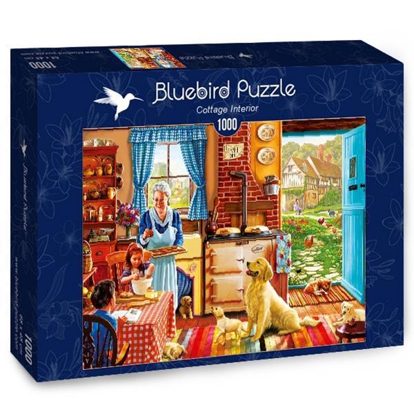 Puzzle Bluebird - Cottage Interior - 1000 piezas