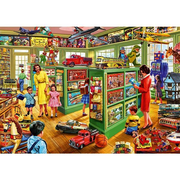Puzzle Bluebird - Tienda de Juguetes Interiores - 1000 piezas