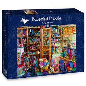 Puzzle Bluebird - Cielo del gatitos - 1000 piezas